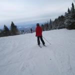 We skied!